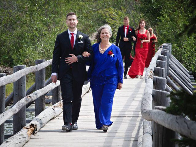 David and Jessica's wedding in Jasper, Alberta 17