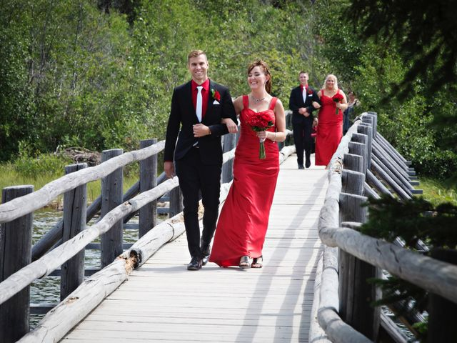 David and Jessica's wedding in Jasper, Alberta 18