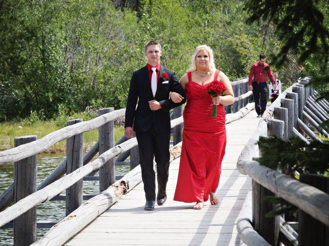 David and Jessica's wedding in Jasper, Alberta 19