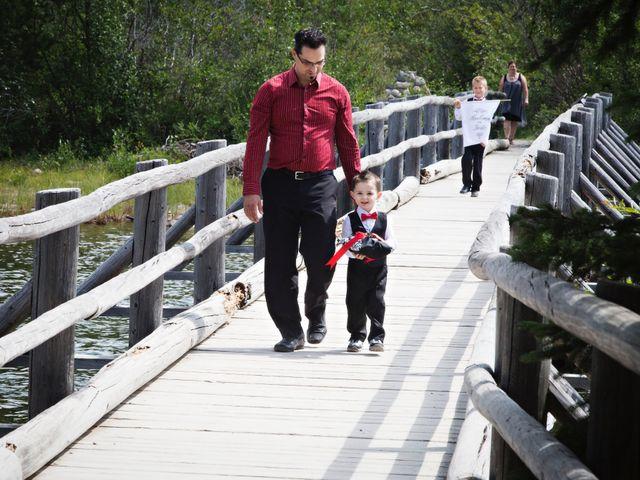 David and Jessica's wedding in Jasper, Alberta 20