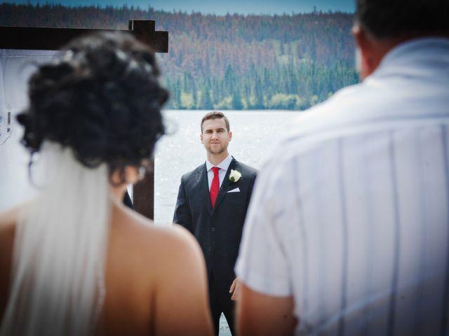 David and Jessica's wedding in Jasper, Alberta 22