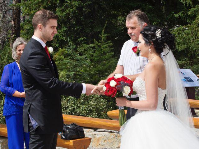 David and Jessica's wedding in Jasper, Alberta 23
