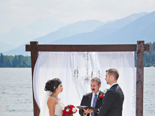 David and Jessica's wedding in Jasper, Alberta 24