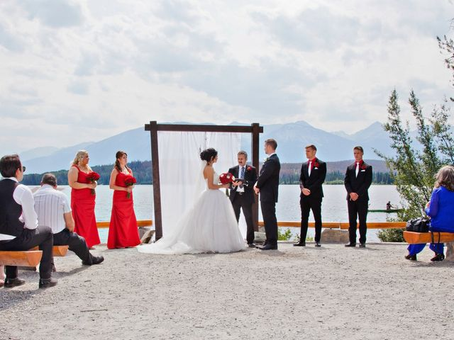 David and Jessica's wedding in Jasper, Alberta 25
