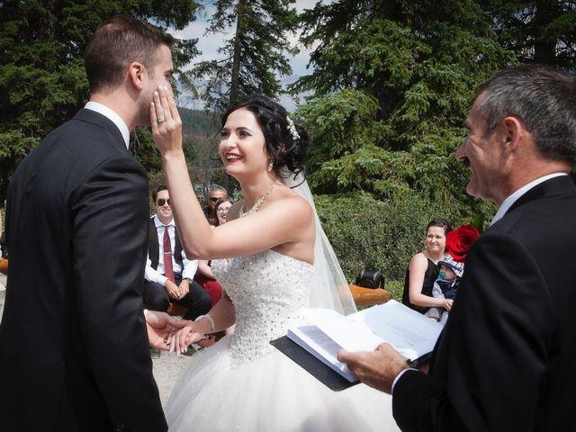 David and Jessica's wedding in Jasper, Alberta 30