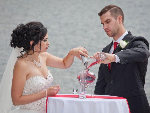 David and Jessica's wedding in Jasper, Alberta 32