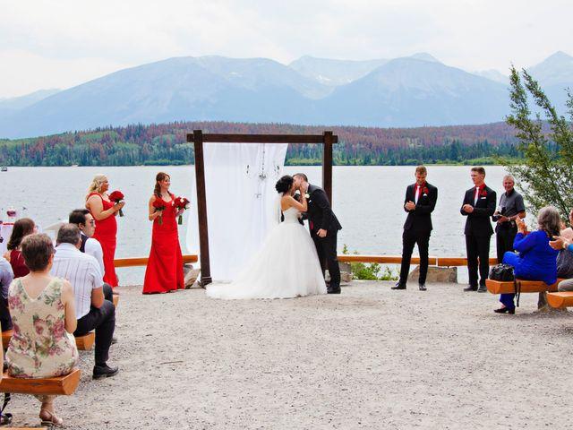 David and Jessica's wedding in Jasper, Alberta 33