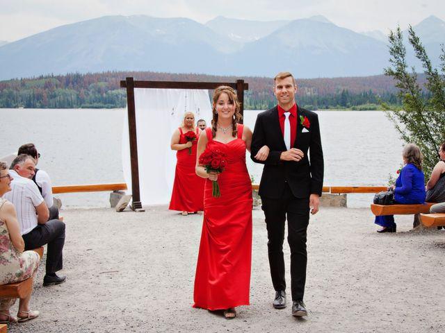 David and Jessica's wedding in Jasper, Alberta 35