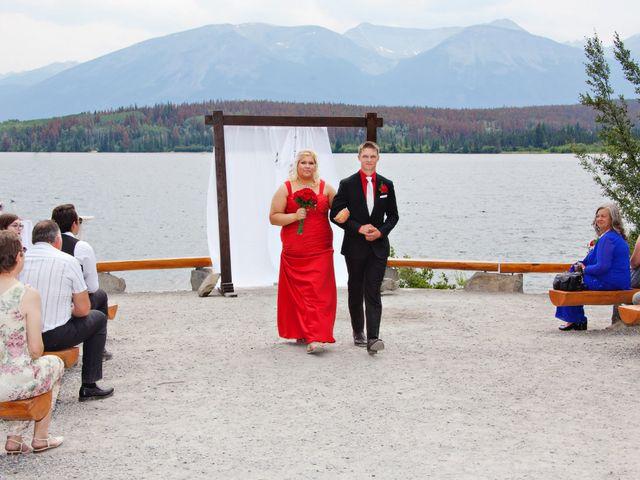 David and Jessica's wedding in Jasper, Alberta 36
