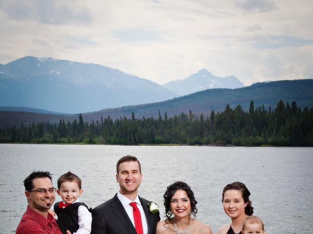 David and Jessica's wedding in Jasper, Alberta 37