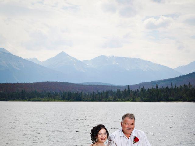 David and Jessica's wedding in Jasper, Alberta 40