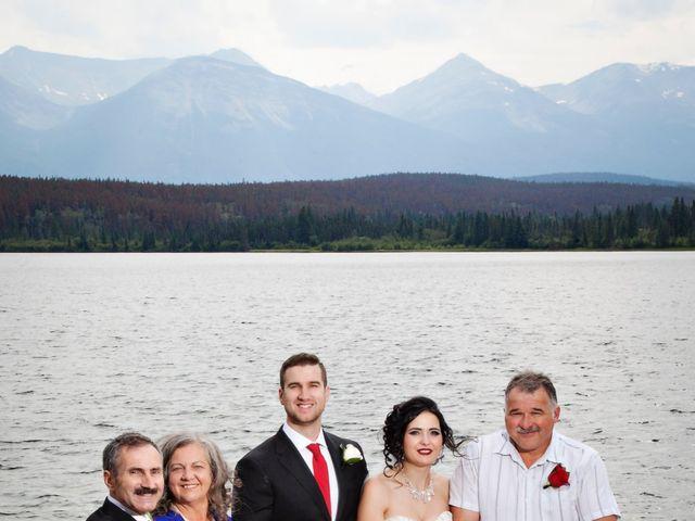 David and Jessica's wedding in Jasper, Alberta 42