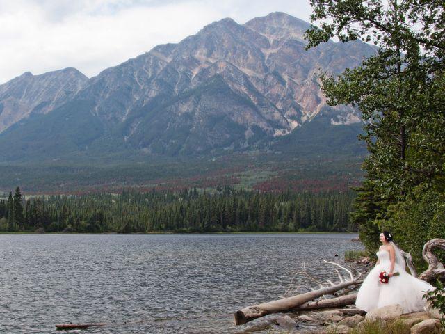 David and Jessica's wedding in Jasper, Alberta 44