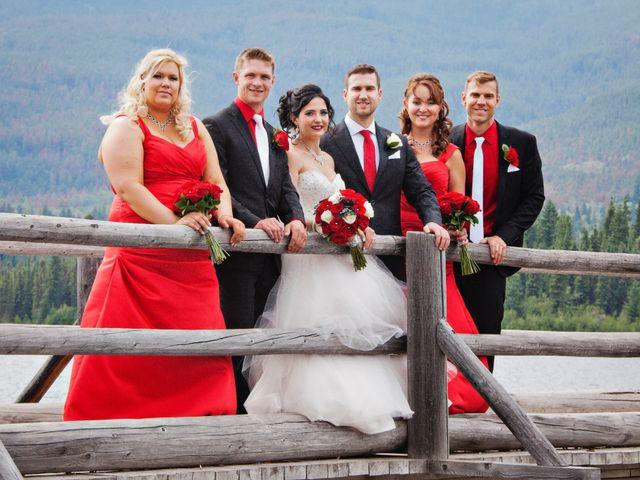 David and Jessica's wedding in Jasper, Alberta 46