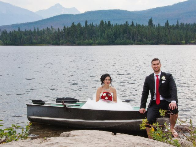 David and Jessica's wedding in Jasper, Alberta 50