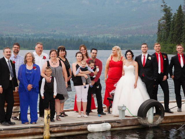 David and Jessica's wedding in Jasper, Alberta 67