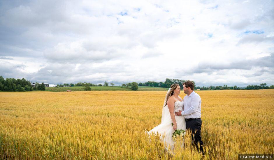 Katie and Cody's wedding in Owen Sound, Ontario