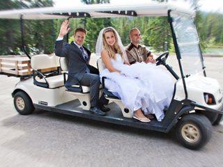The wedding of Meghan and Brett 2
