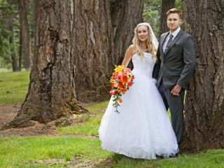The wedding of Meghan and Brett