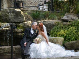 The wedding of Vivien  and Tony