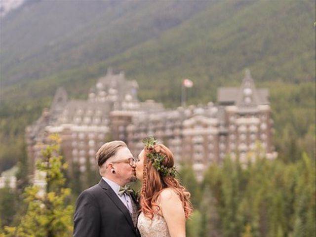 Randy and Terra's wedding in Banff, Alberta 3