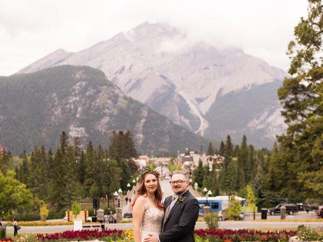 Randy and Terra's wedding in Banff, Alberta 1