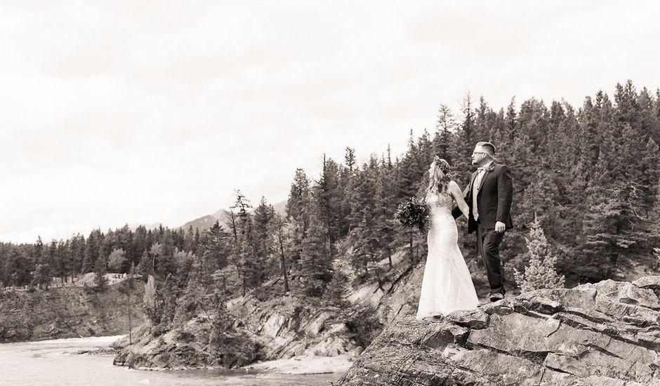 Randy and Terra's wedding in Banff, Alberta