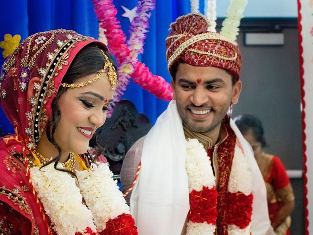 Dhruv and Bhoomika's wedding in Brampton, Ontario 9