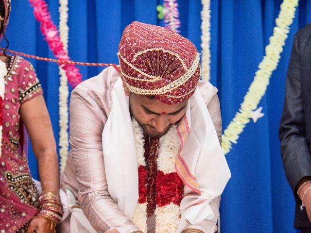 Dhruv and Bhoomika's wedding in Brampton, Ontario 10