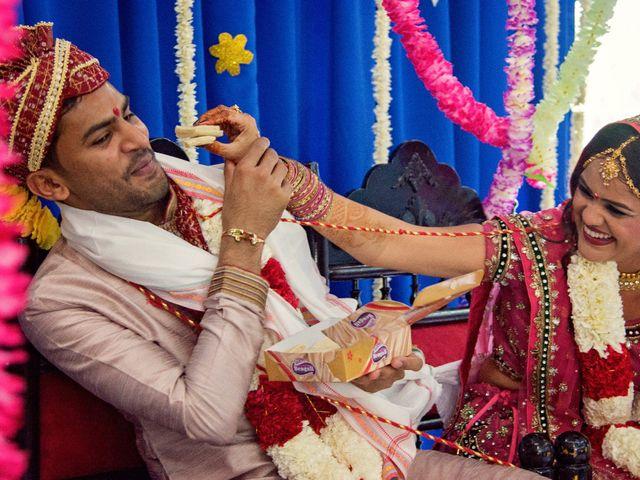 Dhruv and Bhoomika's wedding in Brampton, Ontario 11