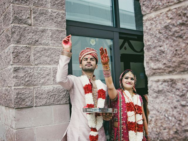 Dhruv and Bhoomika's wedding in Brampton, Ontario 14