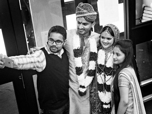 Dhruv and Bhoomika's wedding in Brampton, Ontario 15
