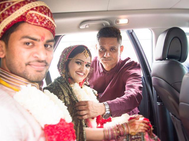 Dhruv and Bhoomika's wedding in Brampton, Ontario 18