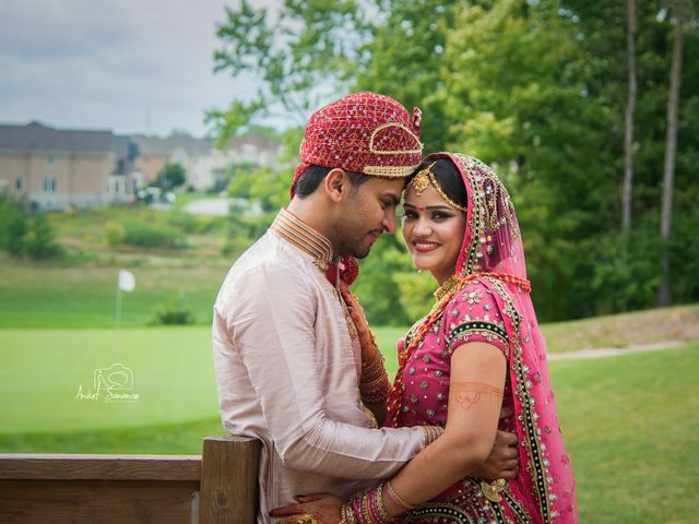 The wedding of Bhoomika and Dhruv