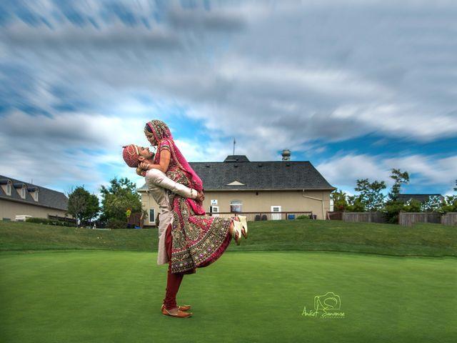 Dhruv and Bhoomika's wedding in Brampton, Ontario 1