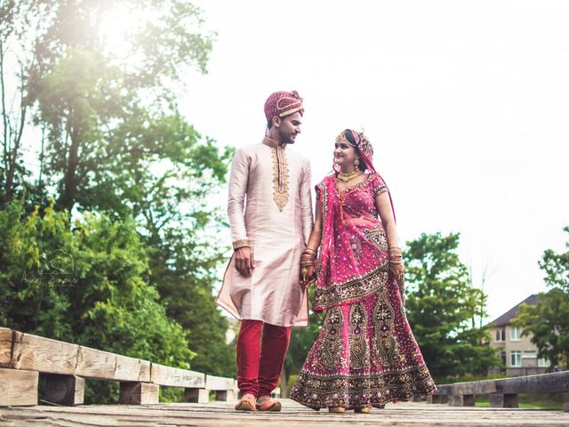 Dhruv and Bhoomika's wedding in Brampton, Ontario 22
