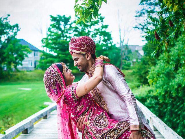 Dhruv and Bhoomika's wedding in Brampton, Ontario 23