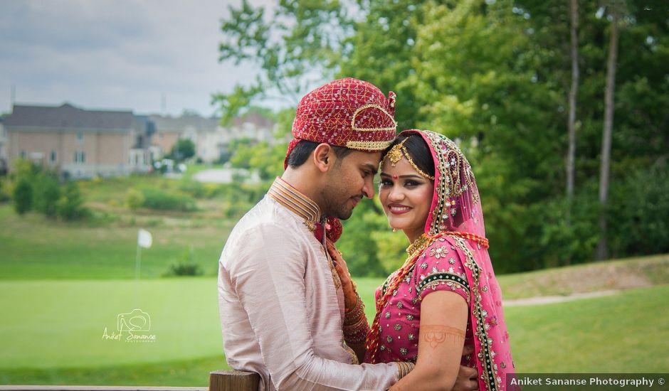 Dhruv and Bhoomika's wedding in Brampton, Ontario