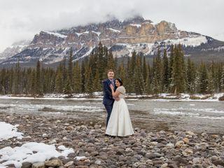 The wedding of Sari and Greg