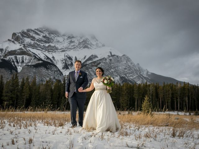 Greg and Sari's wedding in Banff, Alberta 40