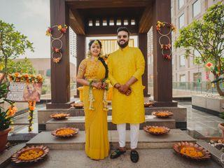 The wedding of Saurav and Deeksha 2