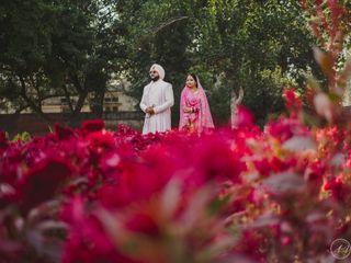 The wedding of Saurav and Deeksha