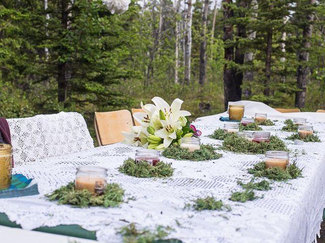 Sascha and Cassie's wedding in Haines Junction, Yukon Territory 2