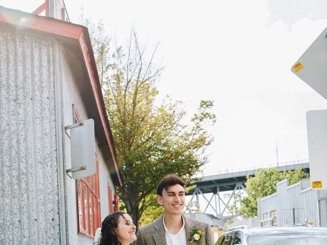 Caitlin and Mark's wedding in Vancouver, British Columbia 3