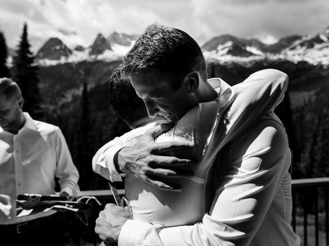 Jonathan and Taryn's wedding in Fernie, British Columbia 11