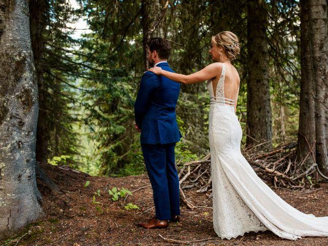 Jonathan and Taryn's wedding in Fernie, British Columbia 26