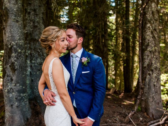 Jonathan and Taryn's wedding in Fernie, British Columbia 29