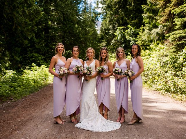 Jonathan and Taryn's wedding in Fernie, British Columbia 32