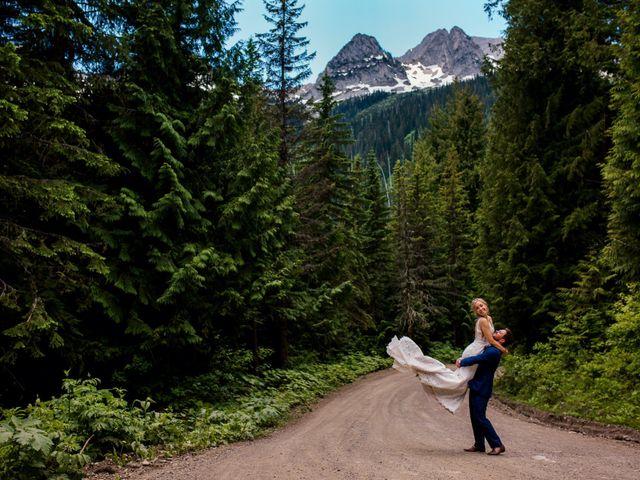 Jonathan and Taryn's wedding in Fernie, British Columbia 34