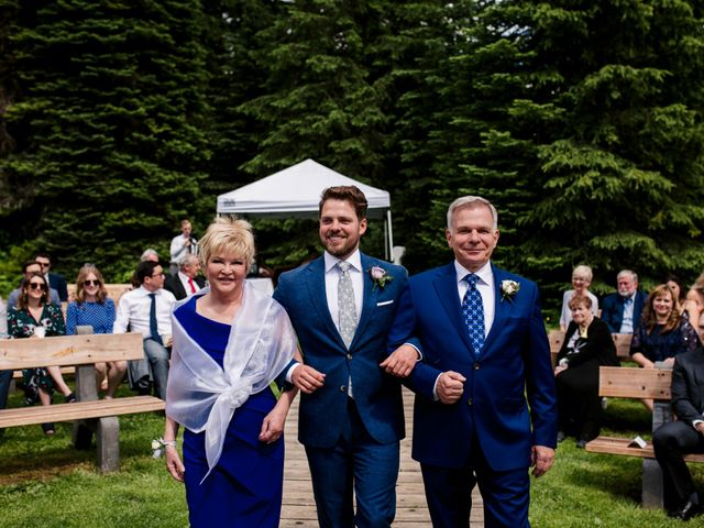 Jonathan and Taryn's wedding in Fernie, British Columbia 39